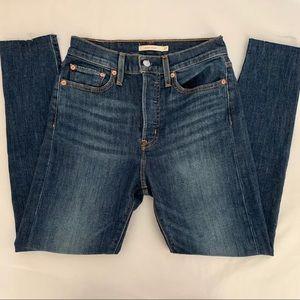 New Levi's Wedgie Skinny denim jeans, 27